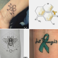 Tattoos, minimalism and mental health