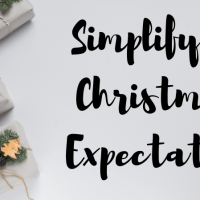 Simplifying Christmas Expectations